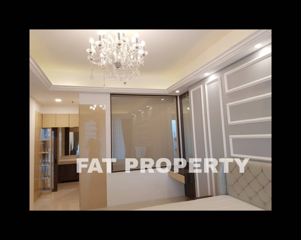 For rent: the best unit in The ST MORITZ Jakarta with view 180 degrees!