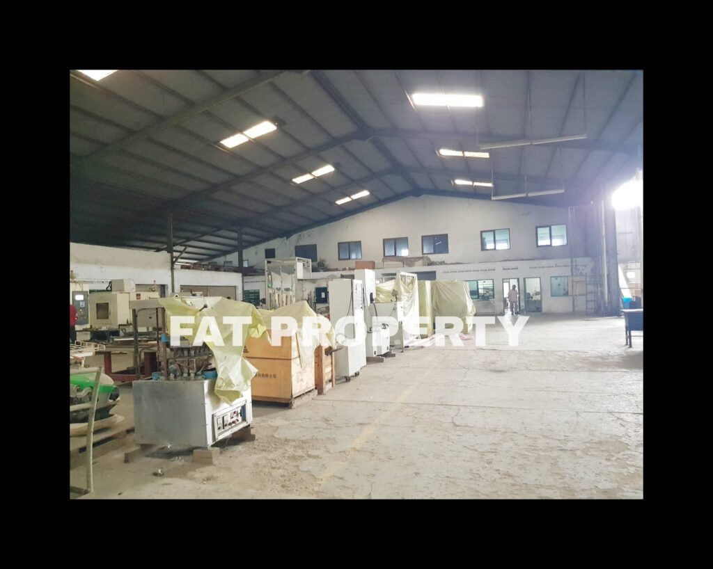 Dijual pabrik di Kawasan Industry Bonen Raya Serang km 18,8, Cikupa,Tangerang.