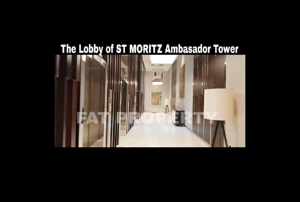 Dijual Apartment ST MORITZ Tower Ambasador luas 157m2 di lt 20-an.