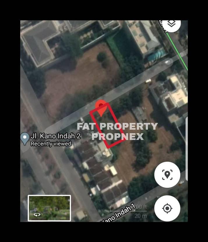Dijual kavling perumahan elite di Jl Kano Indah II,PIK,Jakarta Utara