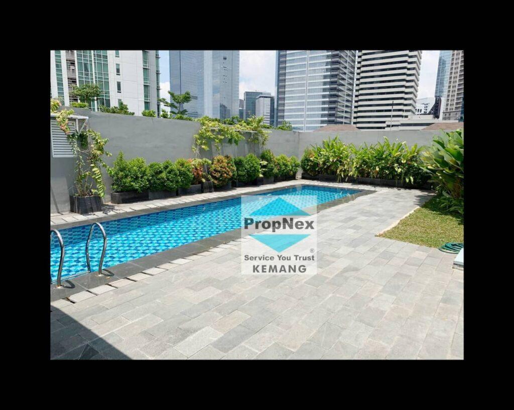 Dijual Sudirman Residence with privatepool.