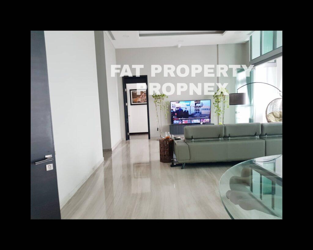 Dijual unit secondary PENTHOUSE KEMANG VILLAGE, integrated development terlengkap di Jakarta Selatan.