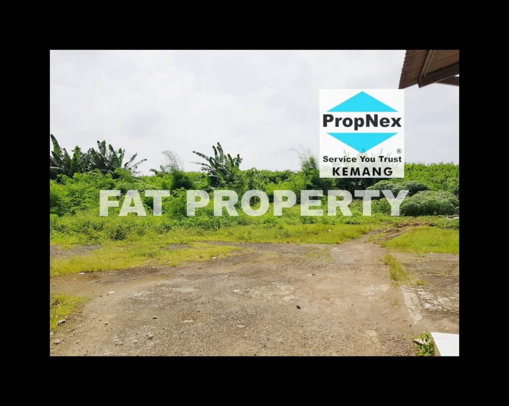 Dijual lahan komersil atau industry bersertifikat di jalan raya Pasar Kemis,Cikupa,Tangerang.