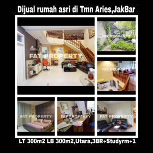 Dijual cepat rumah asri di Taman Aries,Jakarta Barat.