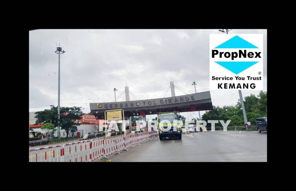 Dijual kavling industry di Modern Cikande,Serang,Banten.