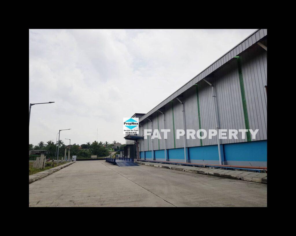 Dijual pabrik dan gudang di kawasan industry Modern Cikande,Banten.