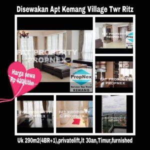 Disewakan Apartement Kemang Village, integrated development terlengkap di Jakarta Selatan.