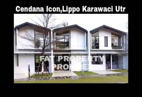 Dijual rumah millenial gaya minimalis Cendana Icon,Lippo Karawaci Utara.