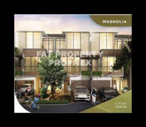 Dijual rumah baru (indent) di cluster terbaru di Puri Botanical,Cluster Magnolia,Jakarta Barat.