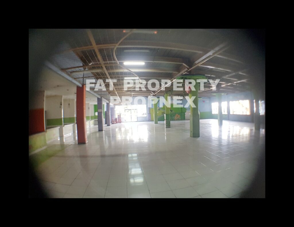 Dijual tanah komersil & bangunan ex gedung shopping centre di Pasar Minggu,Jakarta Selatan.
