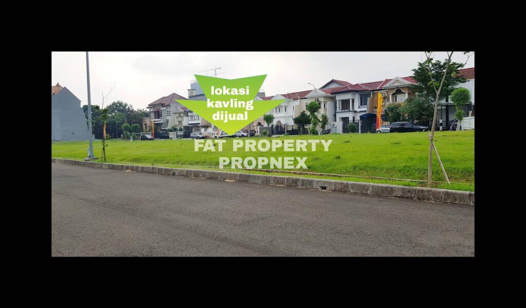 Dijual kavling hunian Jl.Pulau Sepa D5 no 19,Taman Permata Buana,samping Puri Indah,Jakarta Barat.