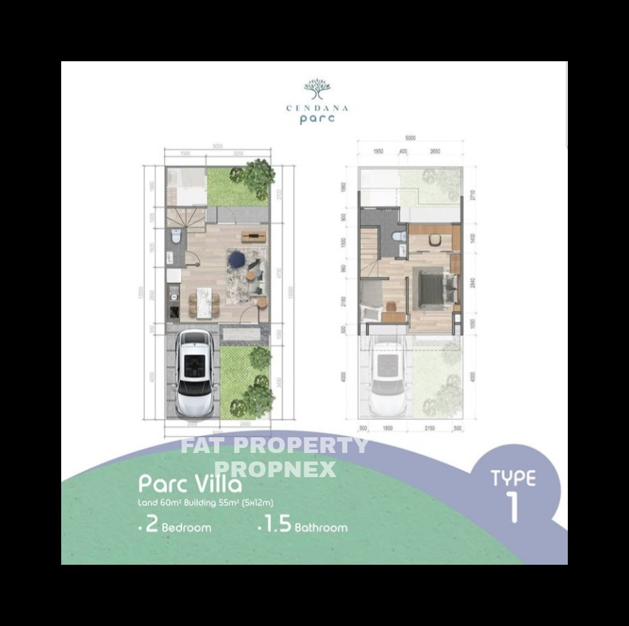 Rumah millenial di Lippo Karawaci harga Rp 600jt-an?
