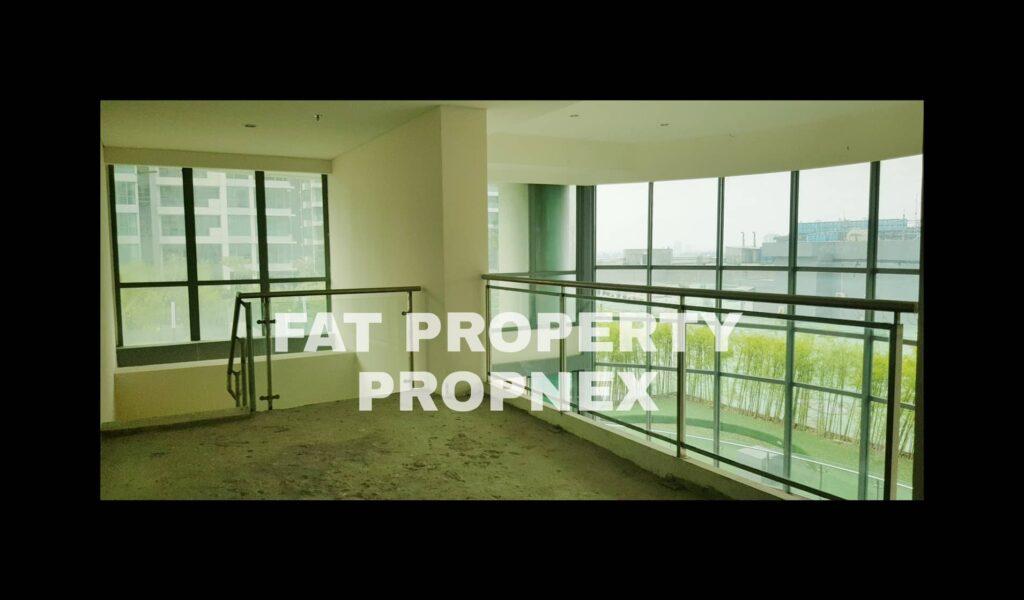 Dijual Garden Penthouse di ST MORITZ Tower New Presidential 387 m2 Dengan Balkon Melengkung