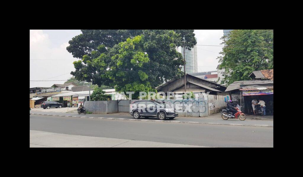Dijual kavling komersil samping fly over sebrang Sekolah Notredam,Jl Kembang Kerep,Puri Indah,Jakarta Barat.