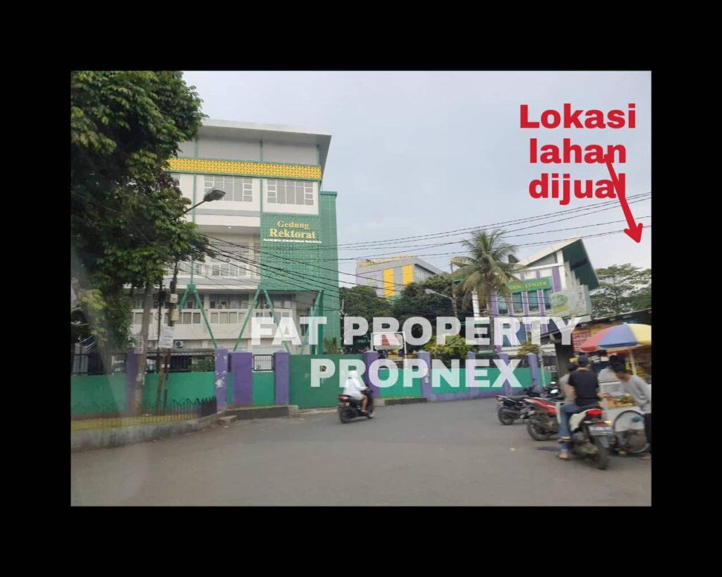 Dijual lahan komersil di Jl. Pakuan,Bogor.