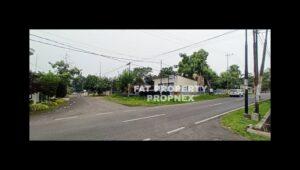 Dijual lahan hoek di Jl.Cendana dan Jl.Prof M Yamin,Pahoman,Bandar Lampung.