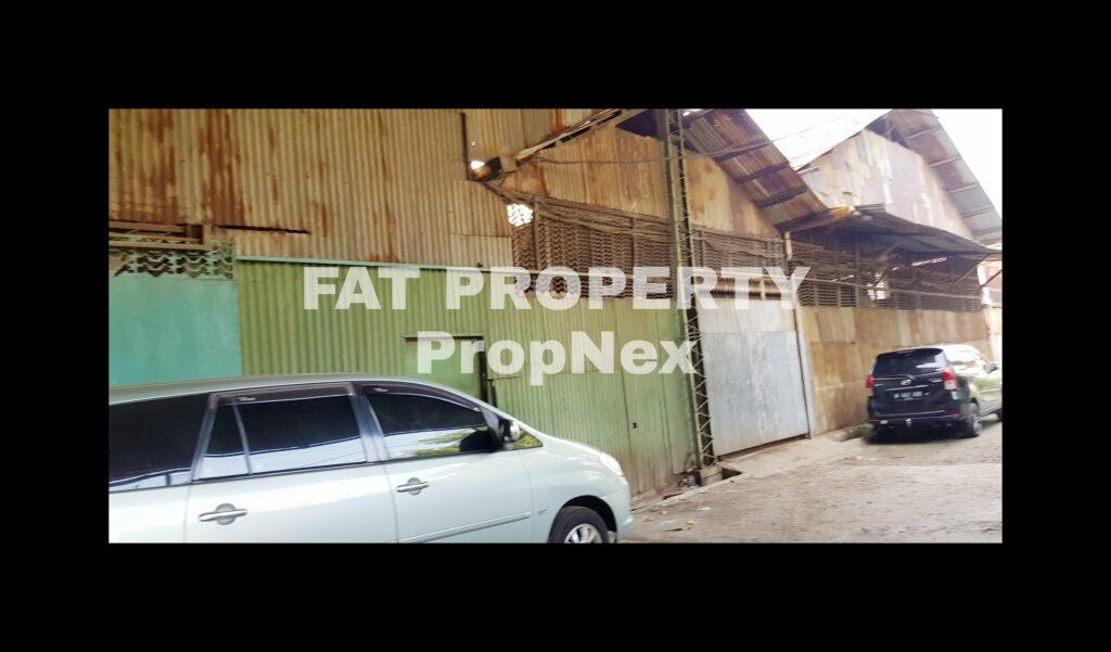 Dijual pabrik ex besi rangka kursi di Jl.Kapuk Pulo,Kapuk,Jakarta Barat.
