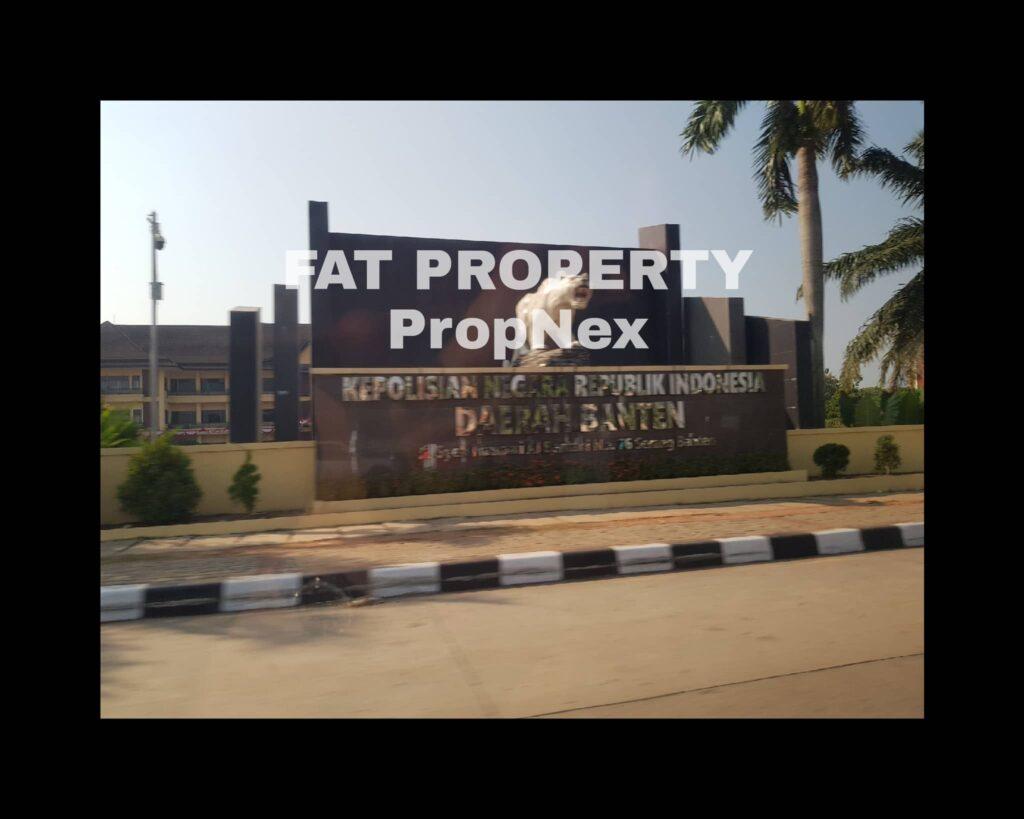 Dijual cepat harga miring lahan/tanah bagus pinggir jalan raya Serang,ibukota Banten:Jl. Cipocok Jaya,Serang.