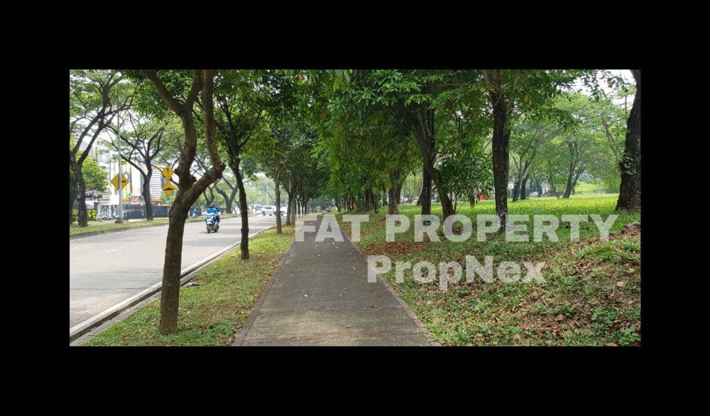 Dijual kavling komersial di pinggir Jl Majapahit,Lippo Cikarang: MATRIX (Majapahit Commercial District) no.979.