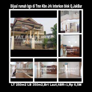 Dijual rumah di perumahan elite : Taman Kebon JerukInterkon,Jakarta Barat.
