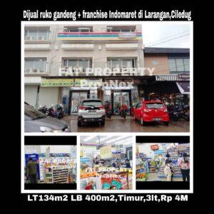 Dijual ruko gandeng di Jl. Inpress 8 Larangan Ciledug,Tangerang,dkt perbatasan JakBar n Tangerang.