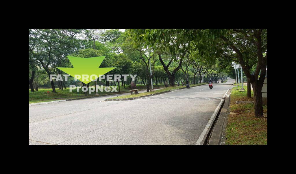 Dijual kavling komersial di pinggir Jl Majapahit,Lippo Cikarang: MATRIX (Majapahit Commercial District) no.969.