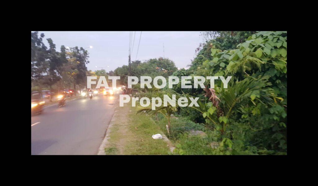Dijual lahan komersil di Jl I Gusti Ngurah Rai,Bintara,Bekasi.