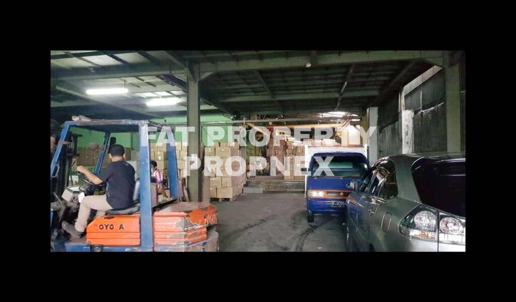 Dijual pabrik baja di Kapuk Kamal,Jakarta Utara.