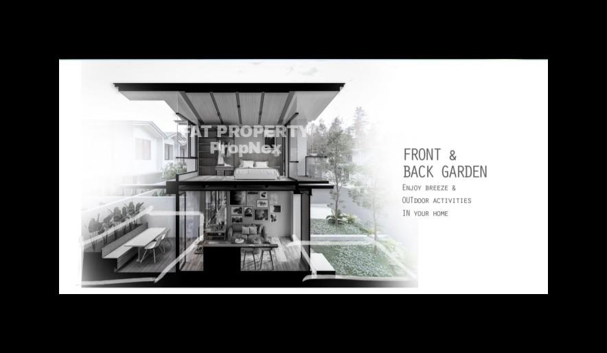 Segera launching Cendana Parc North,Lippo Village,rumah millenial 2 lantai di Lippo Karawaci harga Rp 600jt-an
