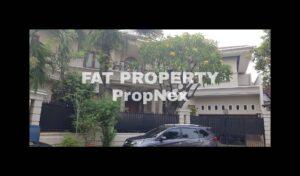 Dijual rumah mewah di perumahan elite : Taman Kebon Jeruk Interkon,Jakarta Barat.