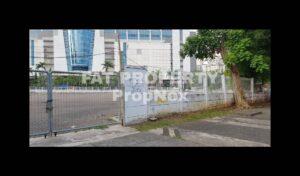 Dijual lahan komersil hoek di Jl Angkasa dan Jl Rendani,Kemayoran,Jakarta Pusat.