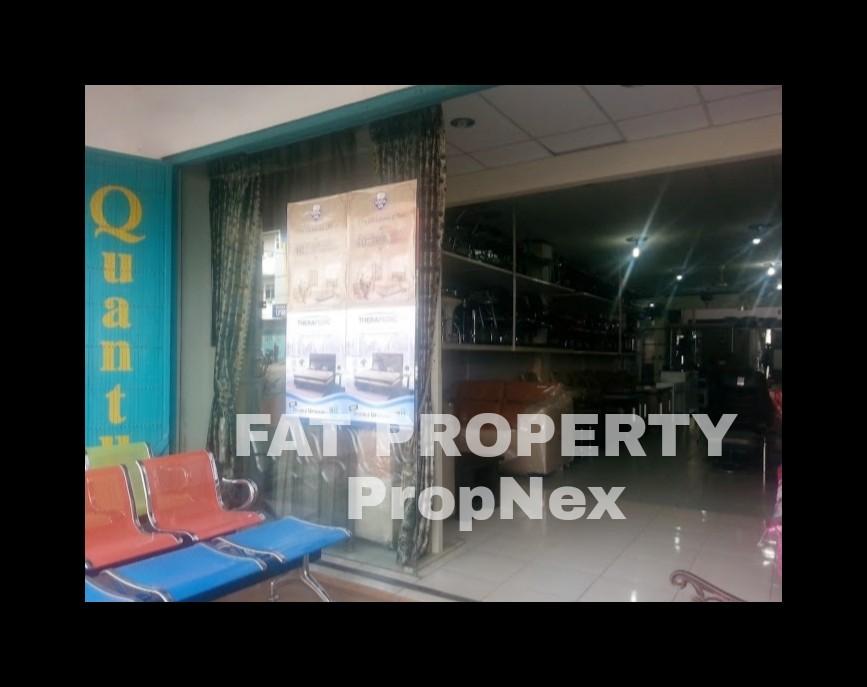 Dijual 4 ruko gandeng di Jl Kartini,Tanjung Karang,Bandar Lampung.