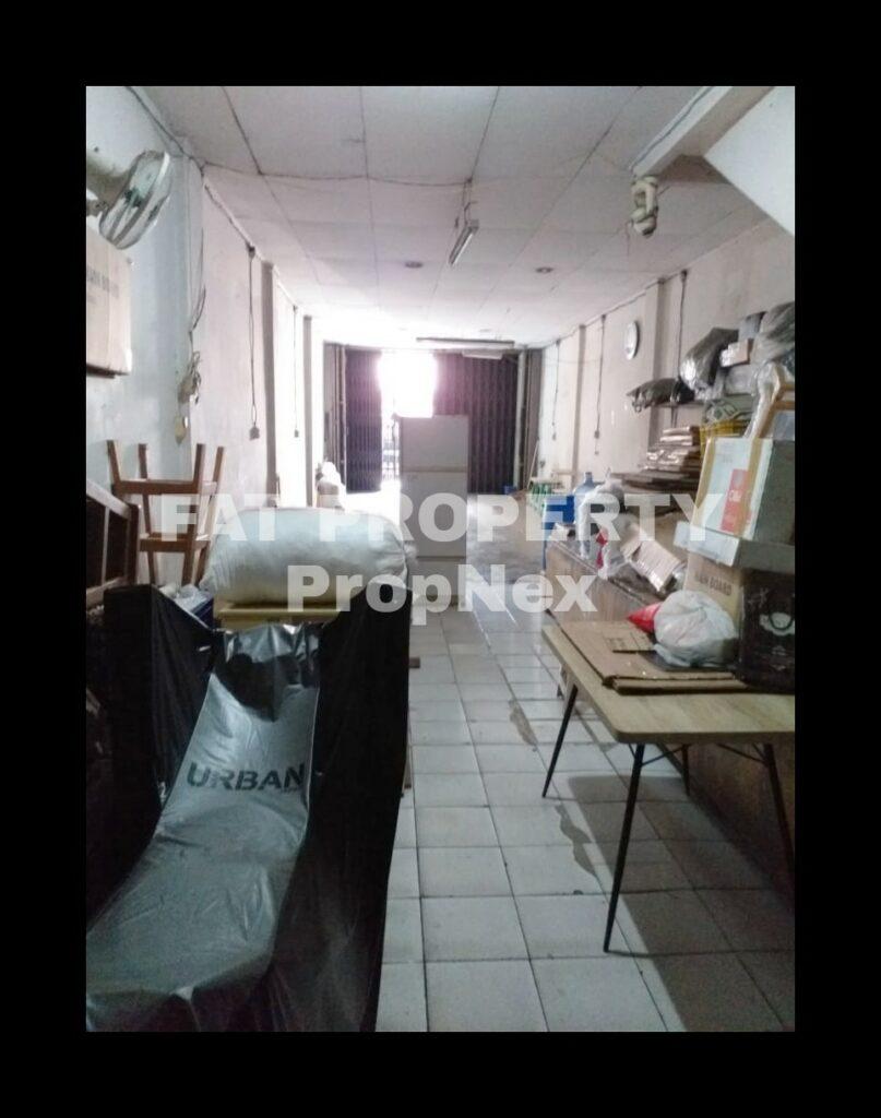 Dijual ruko di komplek Indoruko, Jln Tubagus Angke.