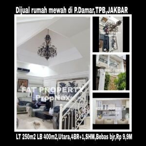 Dijual rumah bagus mewah di Pulau Damar,Taman Permata Buana,Jakarta Barat.