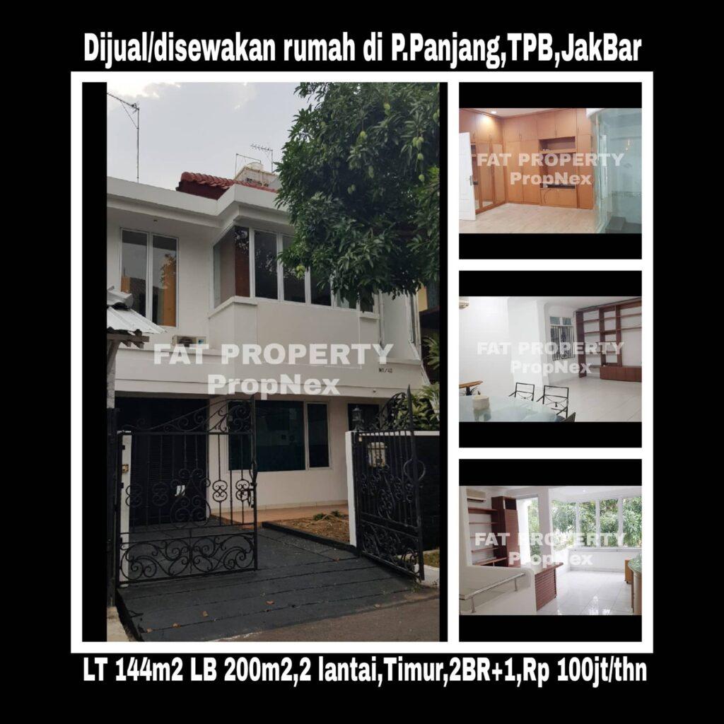 Dijual/Disewakanrumah komplek elitediTaman Permata Buana Jl Pulau Panjang,samping Puri Indah,Jakarta Barat.