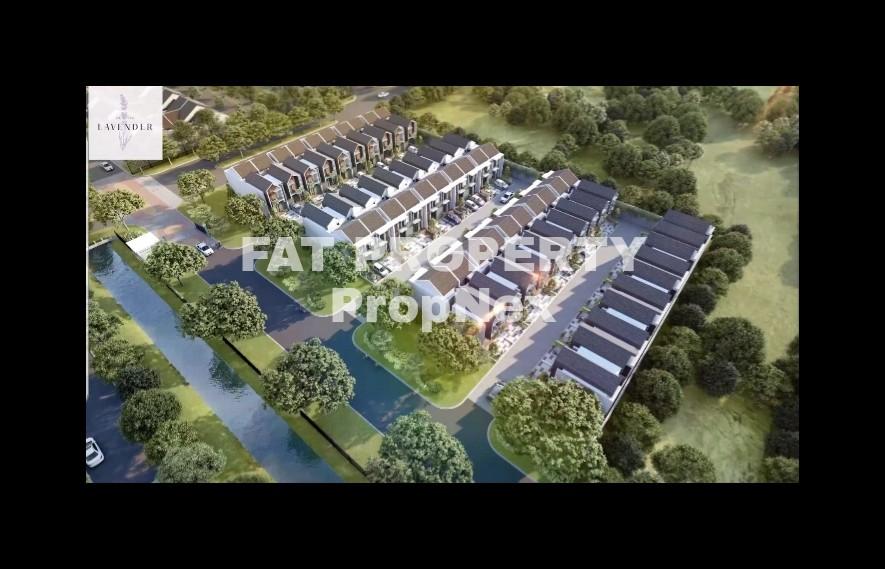 Segera launching rumah ekslusif 2 lantai di : CLUSTER LAVENDER @Puri Botanical,Jakarta Barat.